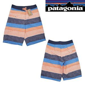 Patagonia Boy's Wavefarer Board Shorts DWR UPF50+